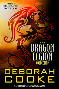 The Dragon Legion Collection, a bundle of three Dragon Legion Novellas in the Dragonfire series of paranormal romances by Deborah Cooke