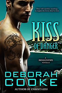 Kiss of Danger, #10 in the Dragonfire series of paranormal romances by Deborah Cooke
