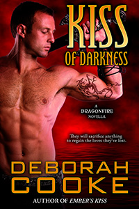 Kiss of Darkness, #11 in the Dragonfire series of paranormal romances by Deborah Cooke