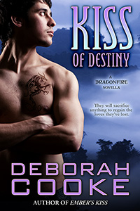 Kiss of Destiny, #12 in the Dragonfire series of paranormal romances by Deborah Cooke