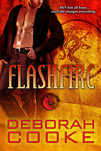 Flashfire, #8 of the Dragonfire Novels, a series of paranormal romances by Deborah Cooke