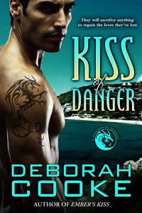 Kiss of Danger, #10 of The Dragonfire Novels, a series of paranormal romances by Deborah Cooke