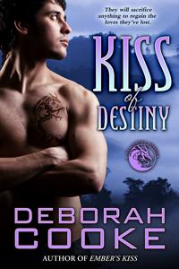 Kiss of Destiny, #12 of The Dragonfire Novels, a series of paranormal romances by Deborah Cooke