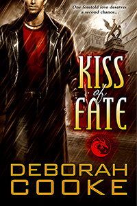 Kiss of Fate, #3 of the Dragonfire Novels, a series of paranormal romances by Deborah Cooke