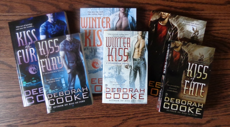 New Dragonfire trade paperback editions, published by Deborah Cooke