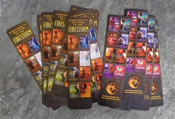 bookmarks for the Dragonfire series of paranormal romances by Deborah Cooke