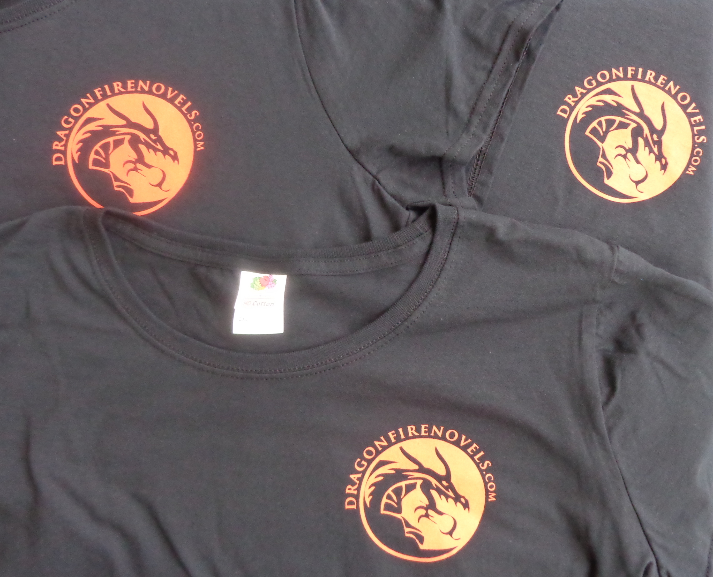 Dragonfire t-shirts, for the Dragonfire series of paranormal romances by Deborah Cooke