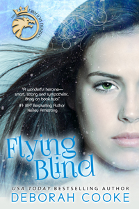 Flying Blind, book #1 of the Dragon Diaries series of paranormal YA novels by Deborah Cooke
