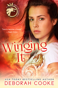Winging It, book #2 of the Dragon Diaries YA trilogy by Deborah Cooke