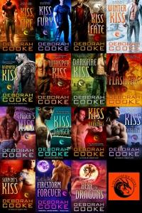 The Dragonfire Novels, a dragon shifter romance series by Deborah Cooke