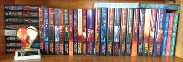 The Dragonfire Novels by Deborah Cooke, in their print editions