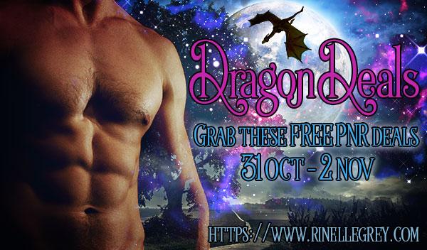 Dragon Deals, multi-author dragon PNR promotion October 31 to November 2 2018