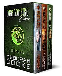 Dragonfire Elixir, the second Dragonfire digital bundle including Winter Kiss, Whisper Kiss and Darkfire Kiss of the Dragonfire Novels series of paranormal romances by Deborah Cooke