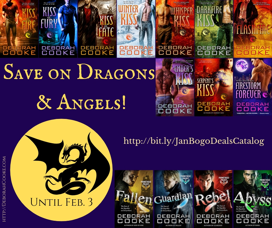 Save on Dragons & Angels in KOBO's BOGO Sale!