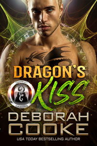 Dragon's Kiss, book #2 of the DragonFate series of paranormal romances by Deborah Cooke