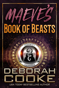 Maeve's Book of Beasts, book 1 of the DragonFate series of paranormal romances by Deborah Cooke