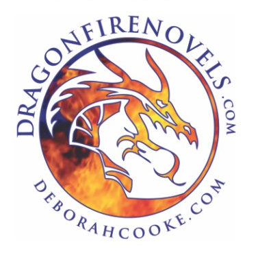 Temporary tattoo design for the Dragonfire Novels series of paranormal romances by Deborah Cooke