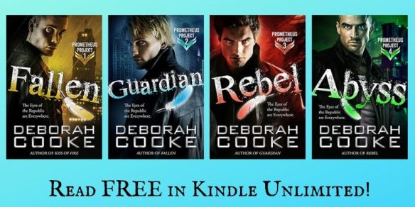The Prometheus Project of urban fantasy romances by Deborah Cooke