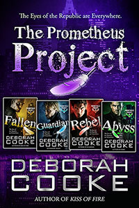 The Prometheus Project Boxed Set, an urban fantasy romance series featuring fallen angel heroes by Deborah Cooke