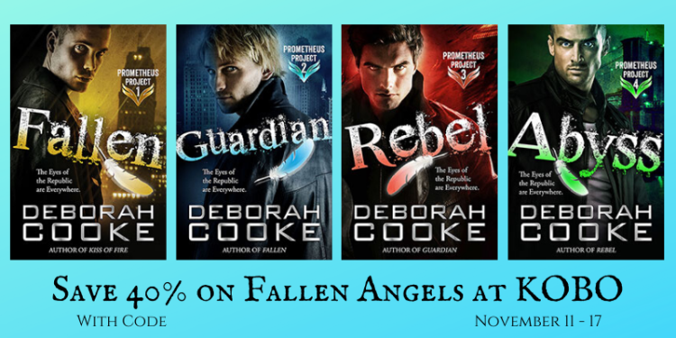 Save 40% on the Prometheus Project by Deborah Cooke at Kobo November 11 - 17, 2019