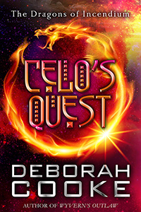 Celo's Quesst, book eight of the Dragons' fo Incendium series of paranormal romances by Deborah Cooke