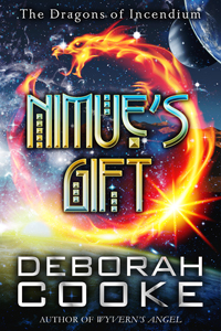 Nimue's Gift, book ten of the Dragons of Incendium series of paranormal romances by Deborah Cooke