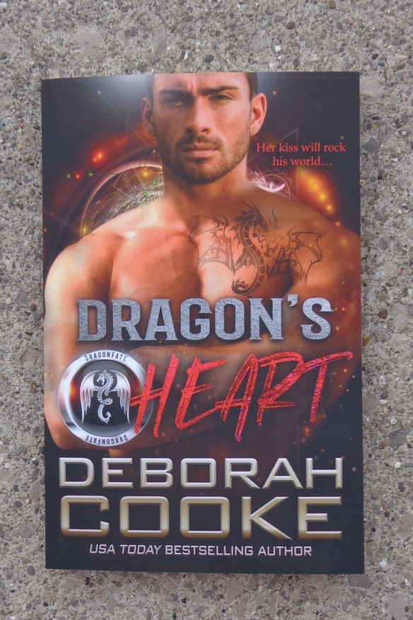 Dragon's Heart, book three of the DragonFate series of paranormal romances by Deborah Cooke in trade paperback