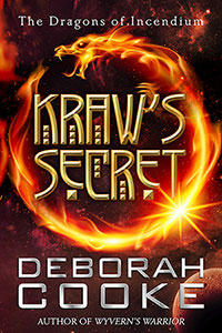 Kraw's Secret, book six of the Dragons of Incendium series of paranormal romances by Deborah Cooke