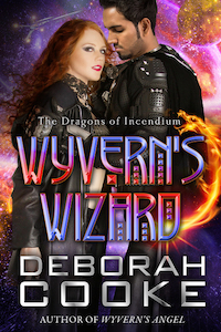 Wyvern's Wizard, book #11 of the Dragons of Incendium series of paranormal romances by Deborah Cooke