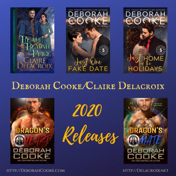 Deborah Cooke's 2020 book releases