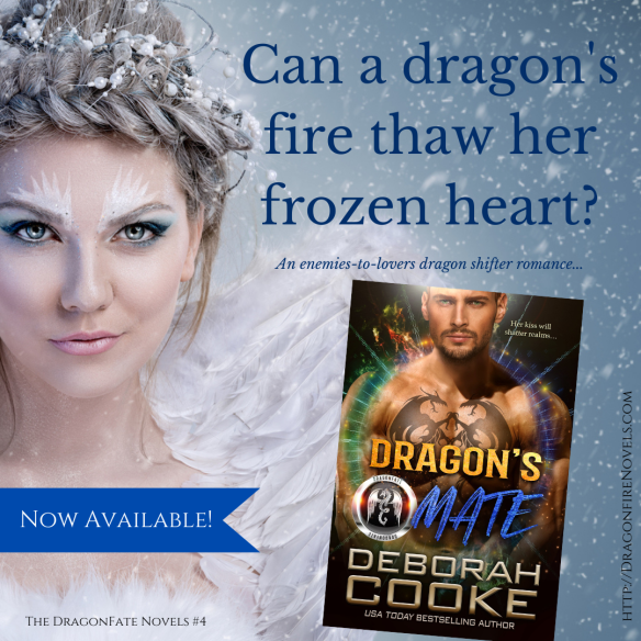 Dragon's Mate, book four of the DragonFate series of paranormal romances by Deborah Cooke