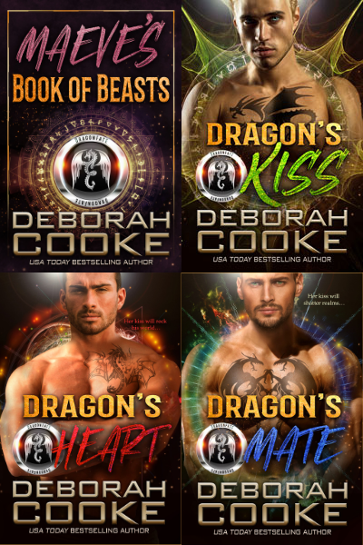 The DragonFate series of paranormal romances by Deborah Cooke