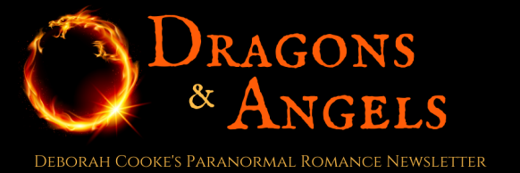 Dragons & Angels, monthly newsletter for Deborah Cooke's paranormal romances