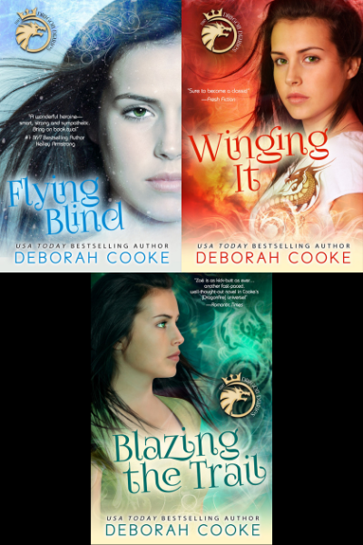 The Dragon Diaries trilogy of YA paranormal romances by Deborah Cooke