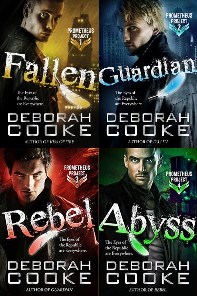 The Prometheus Project series of urban fantasy romances by Deborah Cooke