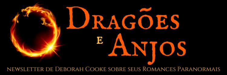Dragons & Angels newsletter for Deborah Cooke's paranormal romances, Portuguese edition